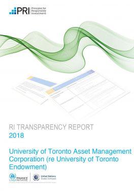 PRI Transparency Report Endowment